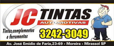 JC Tintas Automotivas Mirassol SP